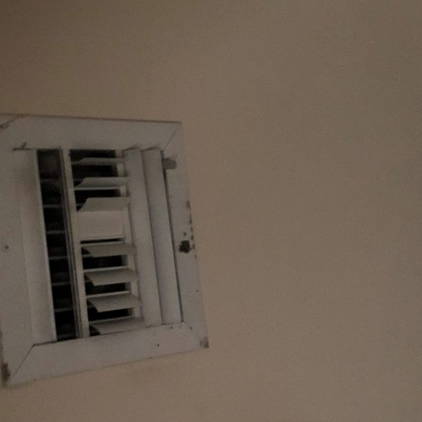 Photo 15 2x view ceiling vent grill contamination